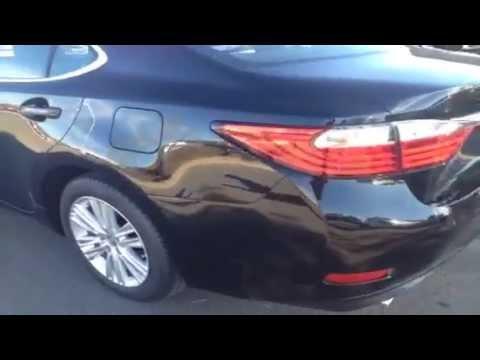 2014 Black Lexus ES 350 Review