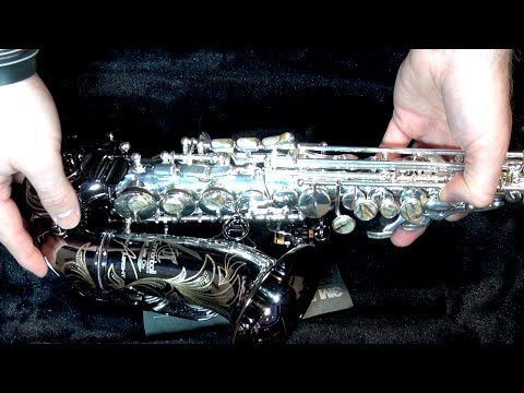 NEW Cannonball CURVED SOPRANO Saxophone!!! - BriansThing