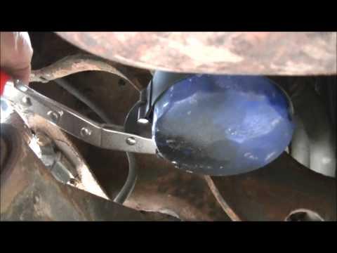 F350 Super Duty V10 oil change and air filter change