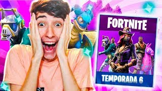*NUEVA TEMPORADA 6* SKINS, CUBO, BUNKER.. Fortnite: Battle Royale - Vicens