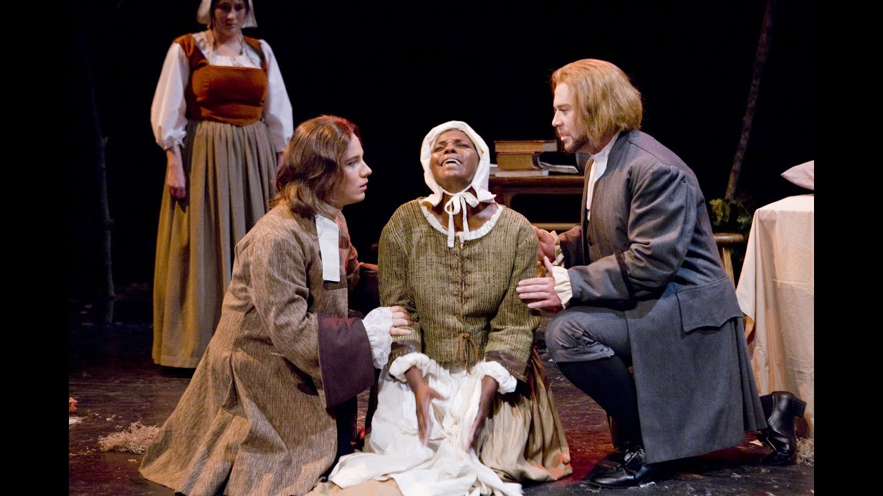 an overview of the witchcraft hysteria in the crucible a play by arthur miller The crucible review – hysteria, horror and dark humour in miller's classic  geraldine alexander directs a slow-burning production of arthur miller's play with a deeply unsettling .