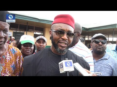 #AnambraDecides: Chidoka Condemns Late Arrival Of Electoral Materials