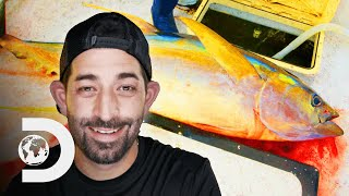 "Catching A ""Big Money"" Ahi Tuna 