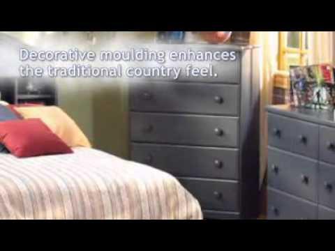 Summer Breeze Bedroom Set   South Shore Furniture