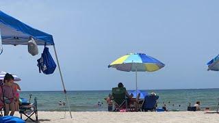 Стрим на пляже...