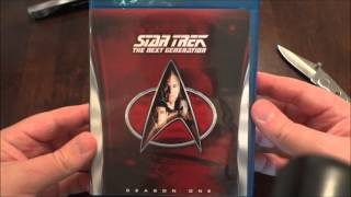 Star Trek: The Next Generation Season One Blu-ray Unboxing