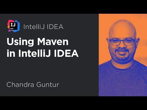 Using Maven in IntelliJ IDEA