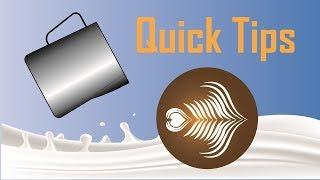 6 Quick Tips For Latte Art