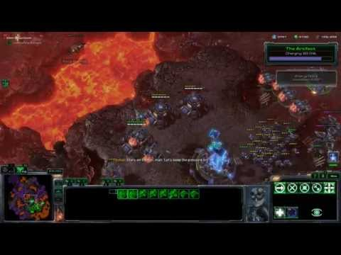 Starcraft 2: Wings of Liberty - All In (Air) - No Ghosts or Hive Mind Emulators