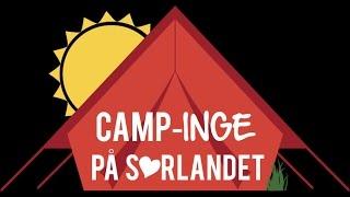 Camp-Inge koser seg på Neset Camping i Setesdal
