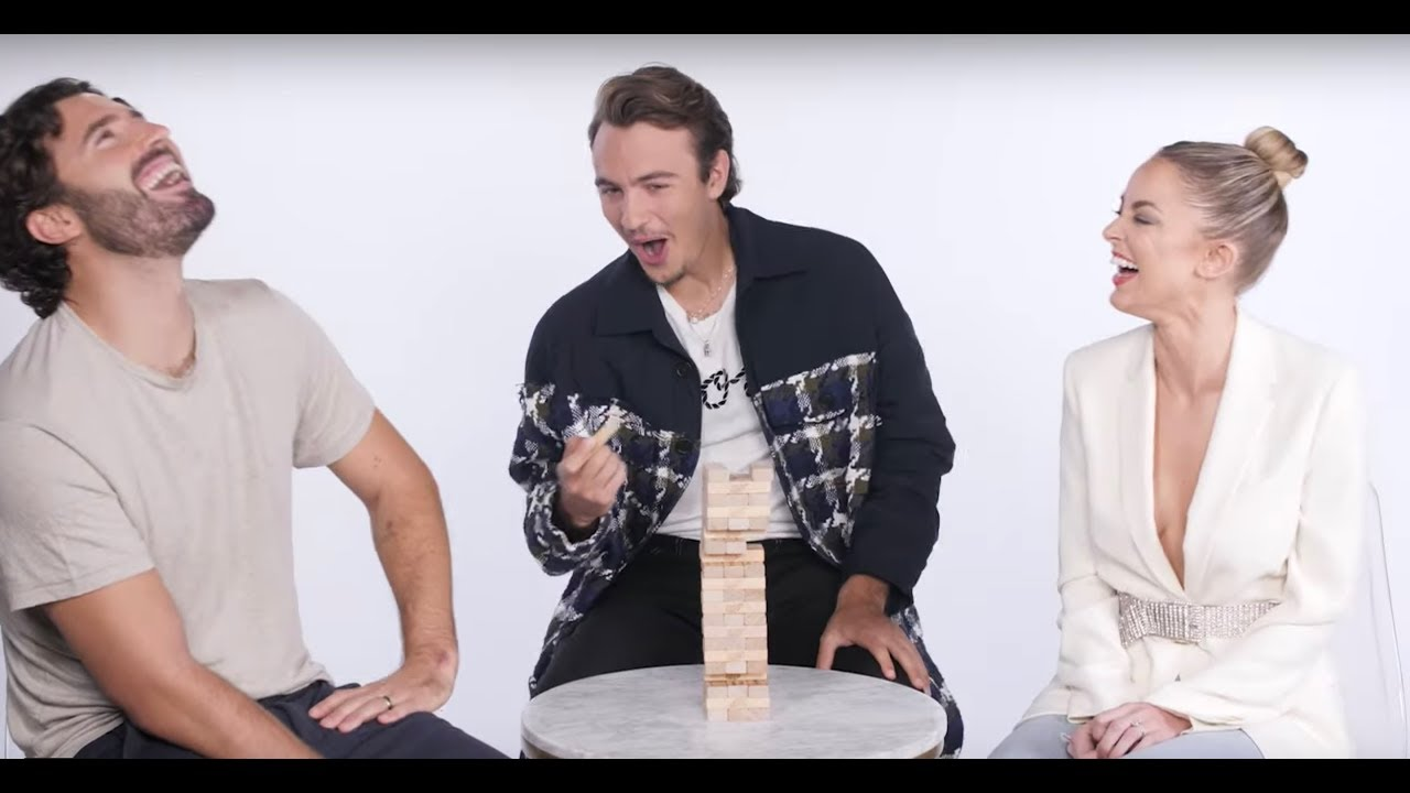 'The Hills' Cast Plays 'High Stakes Jenga' | MarieClaire