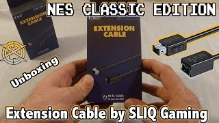 SNES and NES Classic Edition: Extension Cord by SLIQ Gaming (Unboxing and First Impressions)