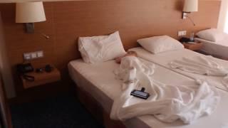 �������� ���� Наш номер Турция Кушадасы Гранд Эфе 4 звезды Вика устала 1 годик Our room in Kusadasi, Turkey Grand ������