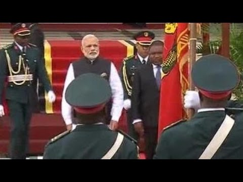 PM Modi Receives ceremonial Welcome in Mozambique - Live Updates