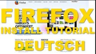 [TUTORIAL] FIREFOX | GERMAN | ANLEITUNG | SCHRITT FÜR SCHRITT | EINSTEIGER