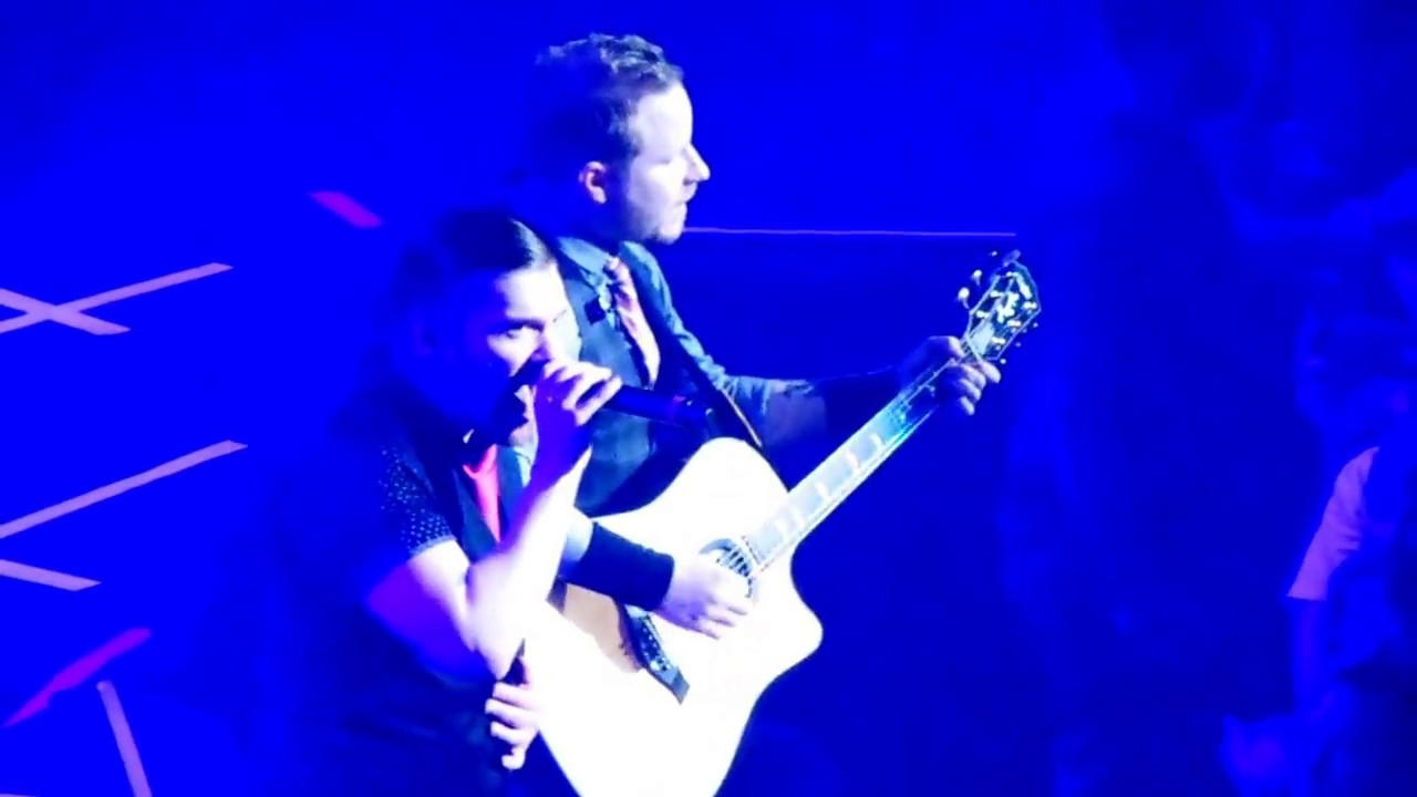 shinedown simple man live in boise zach myers 39 birthday by r scott youtube. Black Bedroom Furniture Sets. Home Design Ideas