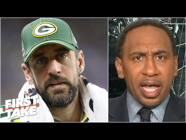 Aaron Rodgers should feel 'disgusted!' - Stephen A. rips the Packers for drafting a QB | First Take - ESPN