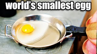 Where do I get my TINY eggs?  | How To Cook That Ann Reardon | Cooking the worlds smallest eggs