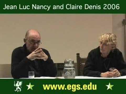 Claire Denis + Jean Luc Nancy. Jean-Luc Godard: Sympathy for the Devil. 2006 2/2