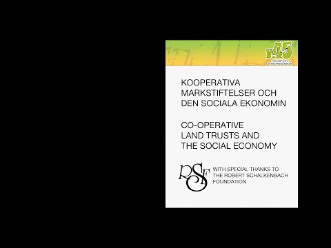 Dan Sullivan - Co-operative land trusts and the social economy