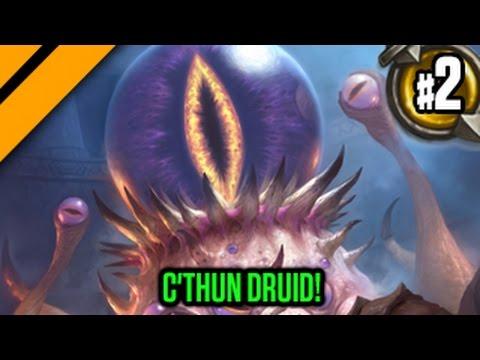 Day[9] HearthStone Decktacular #280 - C'thun Druid! P2