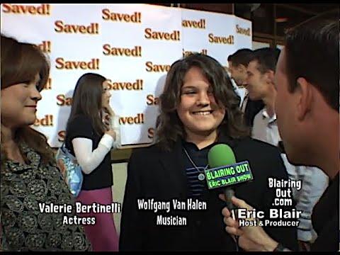 Valerie Bertinelli & Wolfgang Van Halen talk w Eric Blair 2004