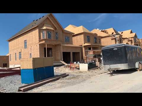 Living in Canada   How houses are build in Toronto Area