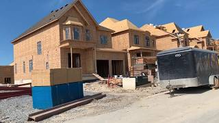 Living in Canada | How houses are build in Toronto Area