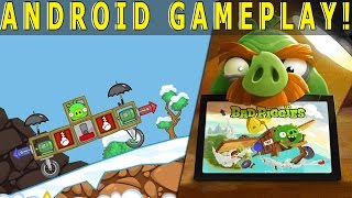 Bad Piggies Little Pig Adventures Update (Android Gameplay)