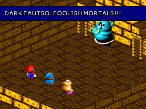 Super Mario RPG Armageddon #35 - Dark Fautso & Dark Bahamut