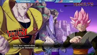 Pro Dragon Ball Fighterz Moments: yellow card