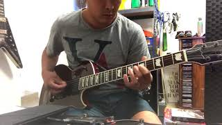Smashing Pumpkins 1979 guitar play through cover with Line 6 Helix LT