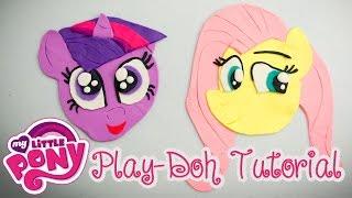Twilight Sparkle & Fluttershy Play-Doh Tutorial My Little Pony (MLP)