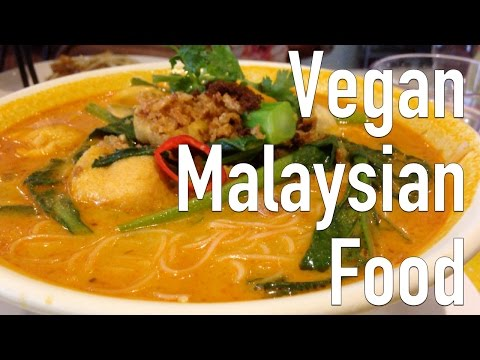 VEGAN MALAYSIAN FOOD | WHAT I ATE TODAY