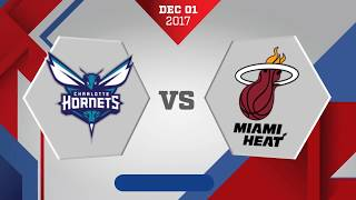 Josh richardson scored a career-high 27 points and dion waiters added 19 as the heat beat hornets, 105-100.