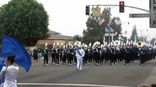 Diamond Ranch HS Duarte Route 66 Parade 2011