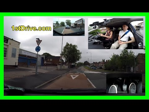 How to drive roundabouts - Lucy's driving lessons episode 8