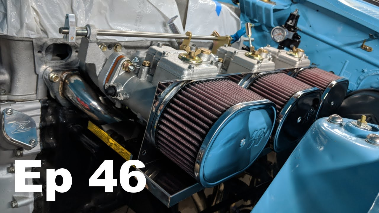 Engine Bay Stuff - Datsun 240z Build - Ep 46 - Panchos ...