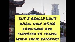 Shanghai: NO TICKETS OUT without ORIGINAL PASSPORT