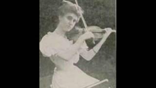 Marie Hall - Sarasate/Jota Aragonesa, Op 27