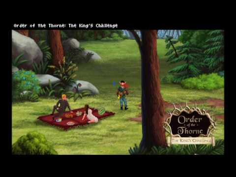 The Order of the Thorne King's Challenge old School RPG Fantasy game Finn the Bard Copie