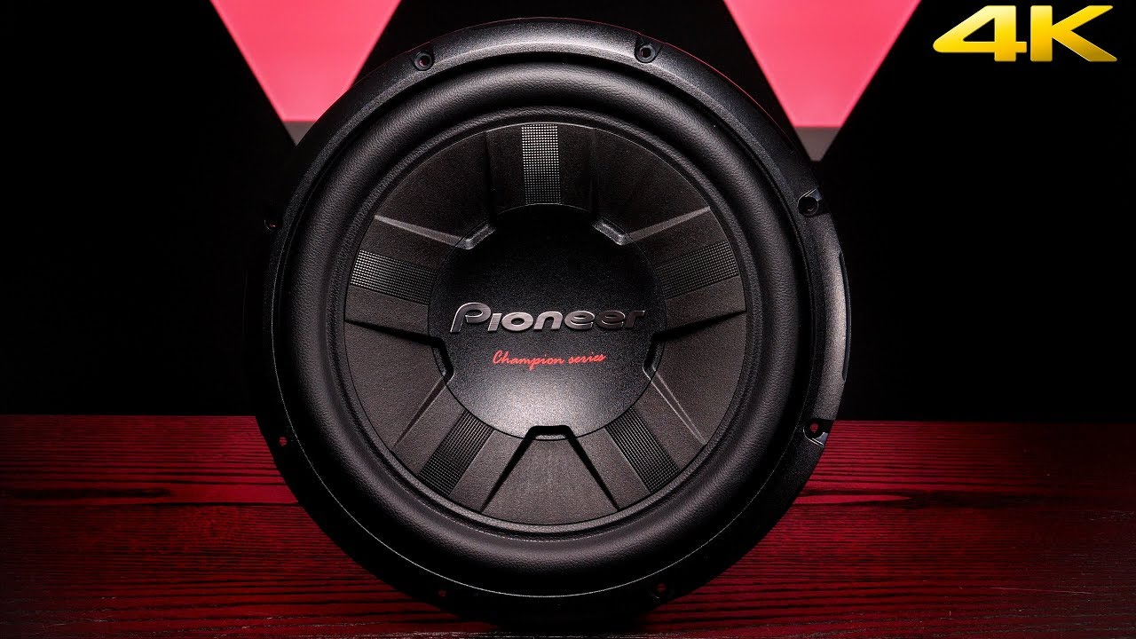Pioneer Champion Ts W311d4 12 Dvc 4 Ohm Subwoofer Youtube 2 Speaker Wiring