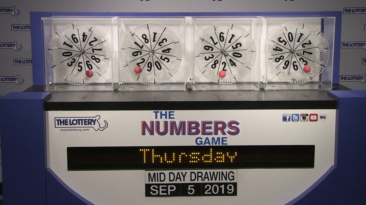 Midday Numbers Game Drawing: Thursday, September 5, 2019