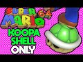 Is it Possible to Beat Super Mario 64 With Only a Koopa Shell?