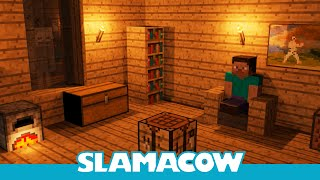 A Normal Night in Minecraft (Re-uploaded) - Animation - Slamacow