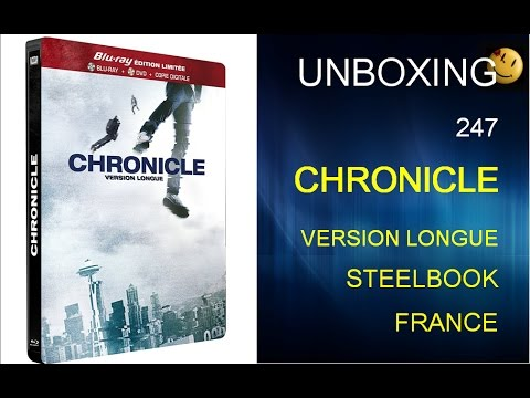 247. Unboxing: Chronicle Blu ray Steelbook France