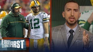 Nick Wright on dysfunctional relationship between Rodgers & McCarthy   NFL   FIRST THINGS FIRST