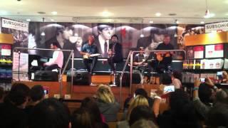 Subsonica live - Lazzaro @ La Feltrinelli Piazza Piemonte