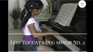 Leonardo Leo - Toccata in G minor No. 3