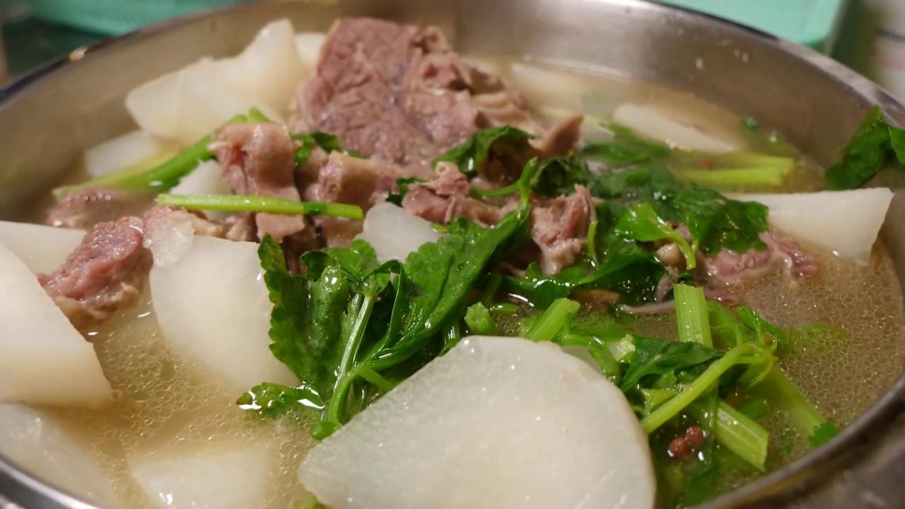 簡易中菜系列- 清湯蘿蔔牛腩 - YouTube
